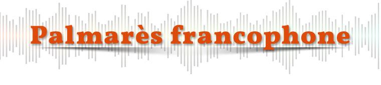 Palmarès francophone
